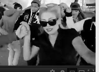 hier auch - (Freizeit, Musikvideo, Lady Gaga)
