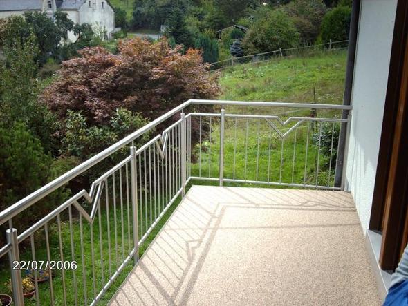 Terrasse Balkon Treppe sanierung Balkonfliesen abdichten abdichtung  - (Balkon, Balkonsanierung)