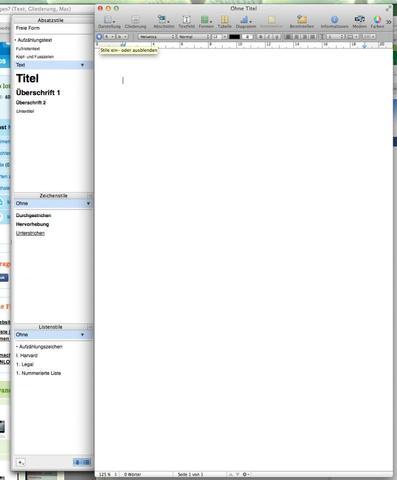 Pages Mac - (Apple, Mac, Macbook)