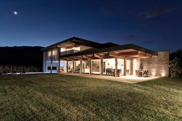 Holzhaus - (bauen, Holz, Carport)