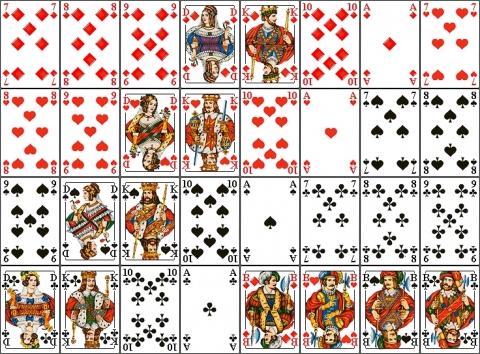 Skatspiel Wie Viele Karten