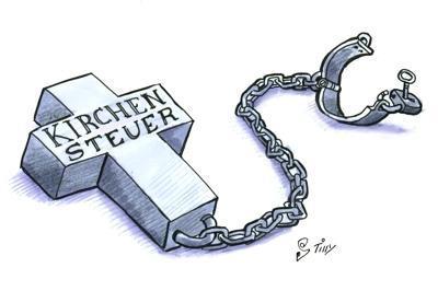www.kirchenaustrittsjahr.de fussfessel - (Religion, Bedeutung, Kirche)