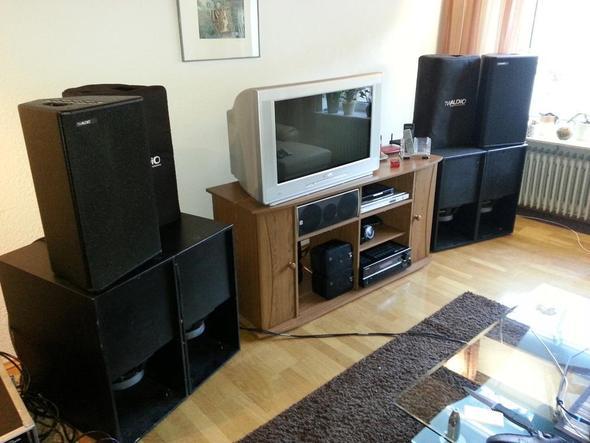 hifi vs pa subwoofer pa anlage. Black Bedroom Furniture Sets. Home Design Ideas