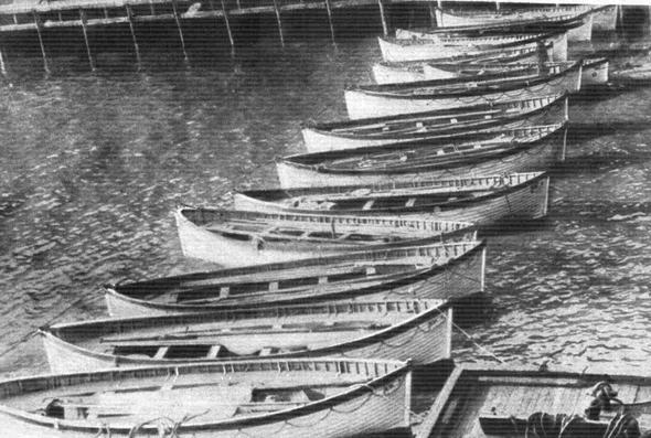 Die Boote in New York - (Freizeit, Titanic, Geschichte schreiben)