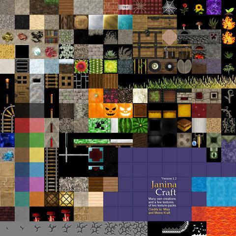 terrain.png - (Minecraft, Ordner, Texturen)