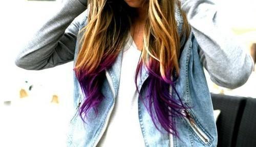dip dye hair haare beauty haarfarbe. Black Bedroom Furniture Sets. Home Design Ideas