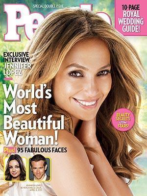 Most Beautiufl Woman 2011 - (Jennifer Lopez, JLO)