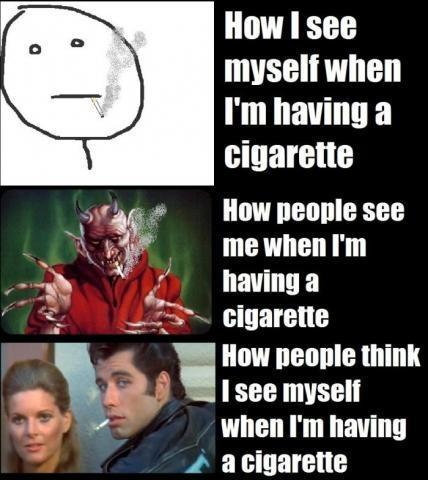 Rauchen Cool - (Alkohol, rauchen)