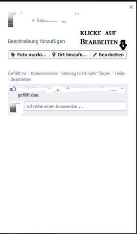 schritt 1 - (Facebook, Profilbild)