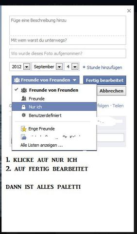 schritt 2 - (Facebook, Profilbild)