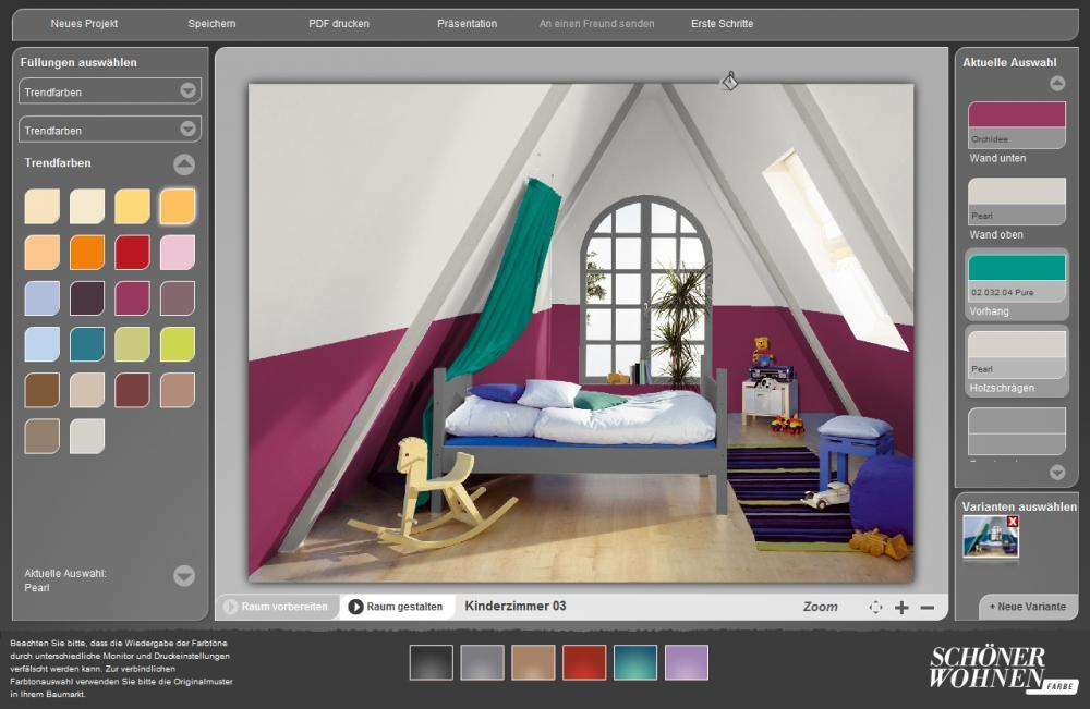 neue zimmerfarbe in brombeer und grau farbe zimmer. Black Bedroom Furniture Sets. Home Design Ideas