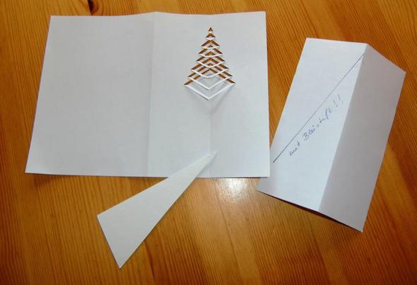 Muster für Weihnachtskarten - (Weihnachten, verkaufen, basteln)