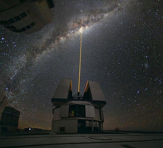 Dunkelwolken versperren den Blick zum Zentrum der Galaxie - (Physik, Licht, Universum)