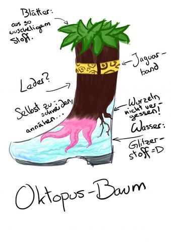 Oktopus-Baum - (Kunst, Objekt, Gegensätze)