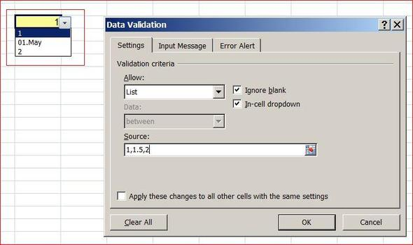 Bild 1 - (Excel, Datum, Autoformatierung)