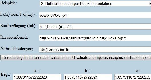 Bisektion - (Mathe, Funktion)