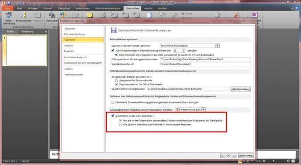 Menü_Überprüfen - (Computer, Powerpoint)