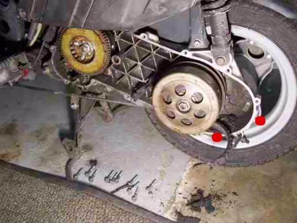 Getriebeöl wechseln - (Roller, Mofa, Rex Monaco)