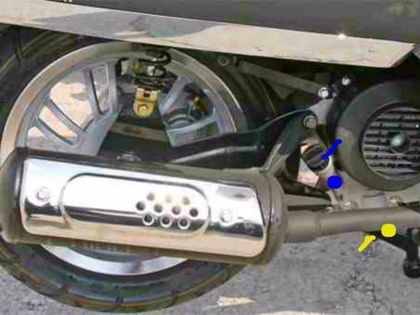 Motoröl wechseln - (Roller, Mofa, Rex Monaco)