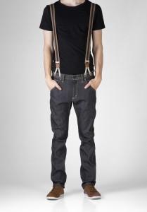 über der Schulter - (Mode, Style)