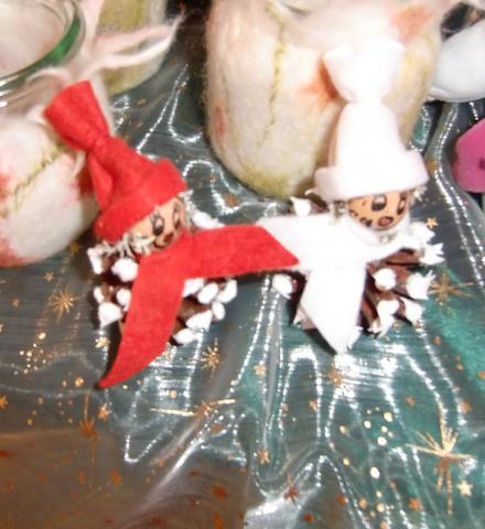 Zapfen Schneemännchen - (Internet, Weihnachten, Internetseite)