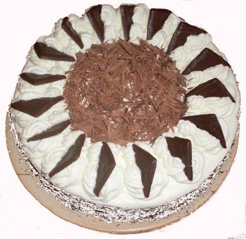 Schoko-Minze-Torte - (backen, Kuchen, Torte)