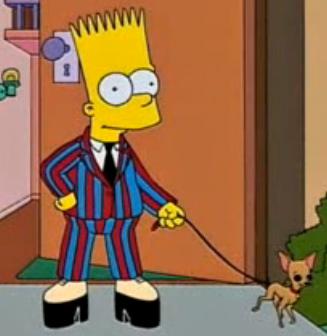 Bart Simpson - (Schule, Make-Up)