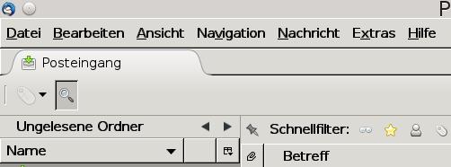nacher - (Farbe, Einstellungen, Thunderbird)