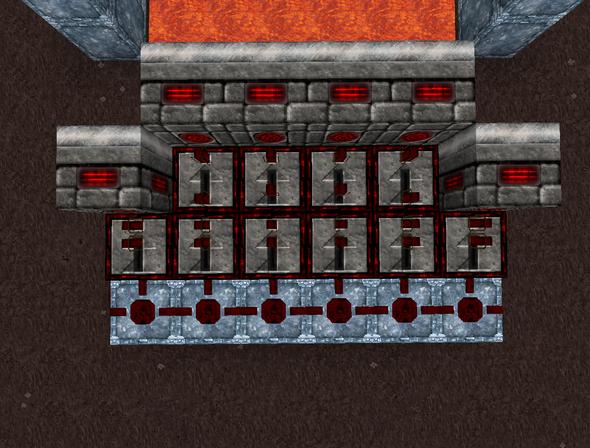 Vogelperspektive - (Minecraft, falle)