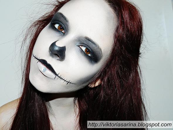 Normaler Totenkopf - (Kostüm, Halloween)