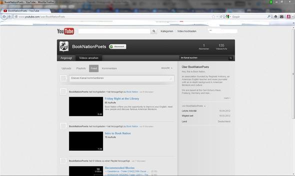 Firefox - (Youtube, Hintergrund, Channel)