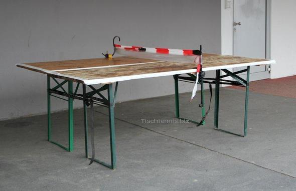 Wie Baut Man Eine Tischtennisplatte Sport Tischtennis