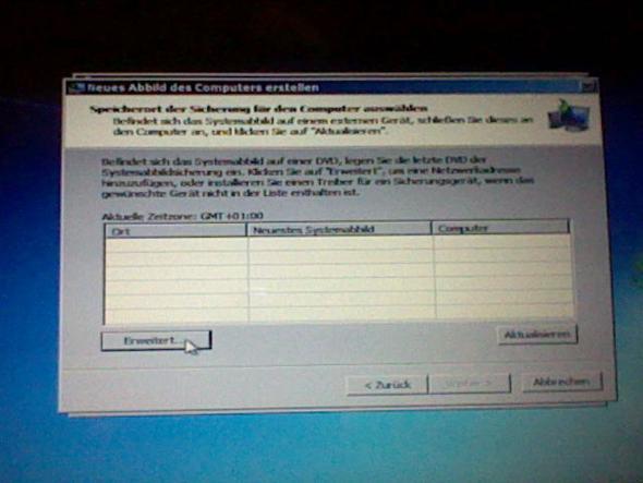 Schritt 4. Klicke Erweitert - (PC, Acer, Absturz)
