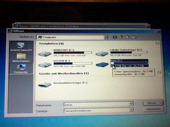 Schritt 7. Gehe Zu Computer und gehe auf die Boot Festplatte. - (PC, Acer, Absturz)