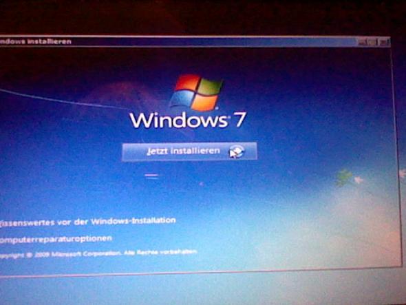 Schritt 10. Klick auf Jetzt Installieren. - (PC, Acer, Absturz)