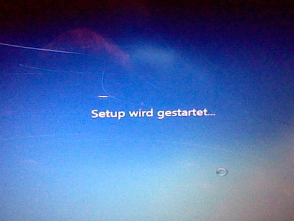 Schritt 11. Windows (beliebig) wird jetzt Neu installiert. - (PC, Acer, Absturz)