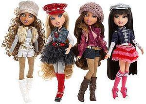 bratz puppen - (Puppen, Barbie, Kinderspielzeug)