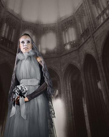 Lady Ghost - Halloween - (Kostüm, Halloween, Geister)