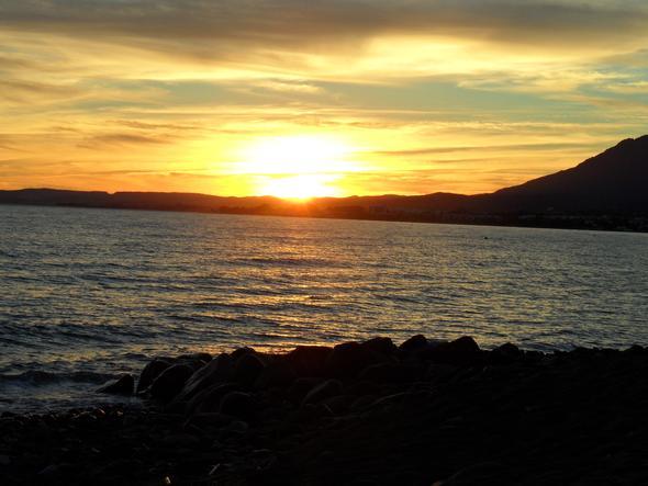 Sonnenuntergang Andalusien im Oktober - (Foto, Kamera, Tipps)