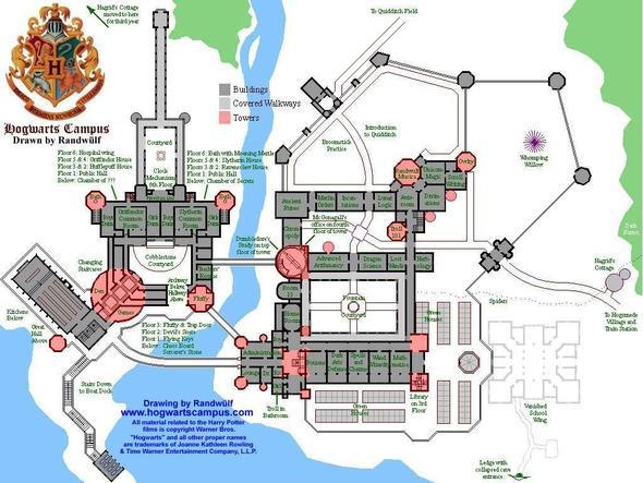 Hier  ist  die  Karte bzw. Bauplan  - (Computer, Minecraft, Harry Potter)