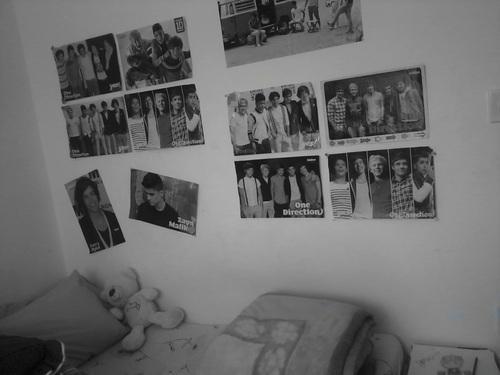 Poster an der Wand ♥ - (Zimmer, Gestaltung)
