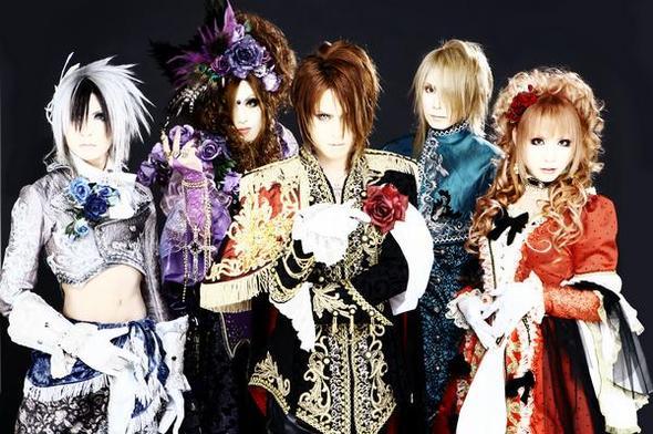 Versailles - Goshikku Kei/Kote Kei - Alle Mitglieder sind/waren männlich (Yuu †) - (Anime, Manga, Japan)