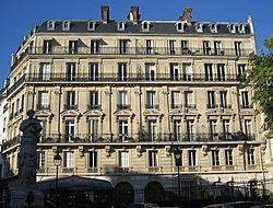 Place Saint-Georges im Haussmann-Stil - (Frankreich, Paris, Revolution)