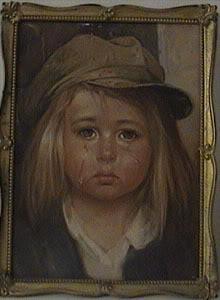 Eins der Bilder vom kleinen Mädchen - (Geschichte, Glaube, Spuk Pech)