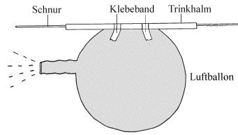 Raketenantrieb Physik