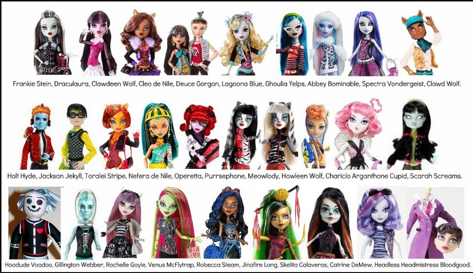 monsterhigh barbie