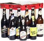 """Musterkarton mit 9 Flaschen """"Glück auf Bier!   http://www.glueckaufbiere.de/ - (basteln)"""