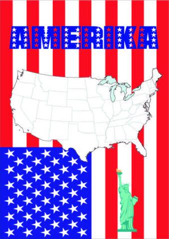 Erdkunde Deckblatt Amerika