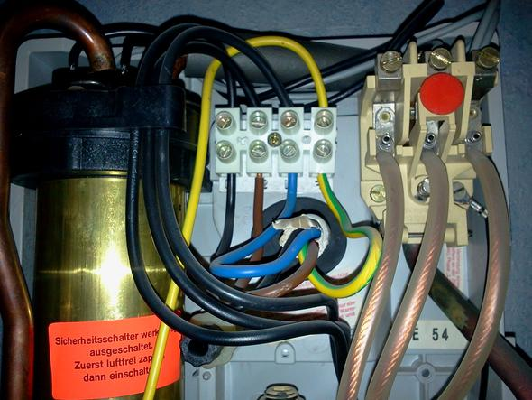 Wer hat einen elektrischen Schaltplan für Durchlauferhitzer ...