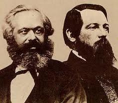 Karl Marx und Friedrich Engels - (Religion, katholisch, karl-marx)